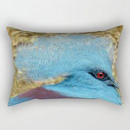 CROWNED PIGEON Rectangular Pillow