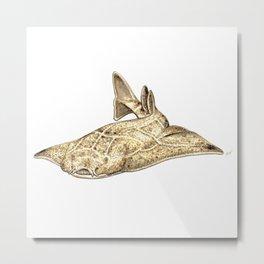 Angel shark Metal Print