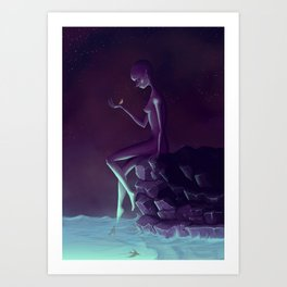 My Name is Little One Art Print