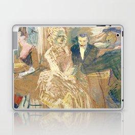 """Henri de Toulouse-Lautrec """"Au Bal masqué de l'Elysée Montmartre"""" Laptop & iPad Skin"""