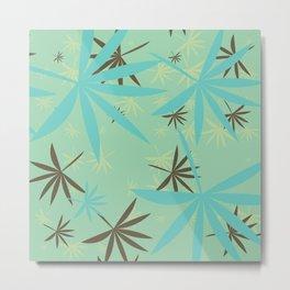 Leaves 6b Metal Print