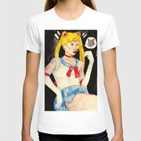 sailor moon T-shirts featuring sailor moon by withapencilinhand