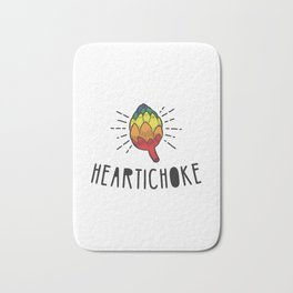 Heartichoke Gift Bath Mat