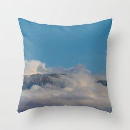 Desert Mountain Snow 0329 Throw Pillow