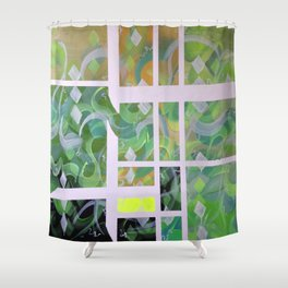 Dame Nature Shower Curtain