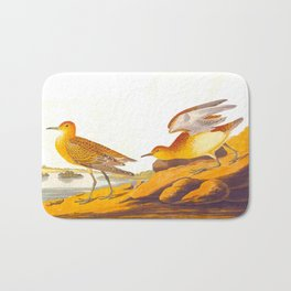 Buff-breasted Sandpiper Bird Bath Mat