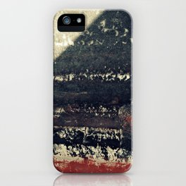 The red wall iPhone Case