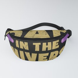 Best Dad Universe Papa Father Universe Fanny Pack