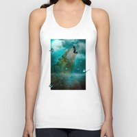 hobbes Tank Tops featuring I'll See You In My Dreams (Cry of the Wolf) by soaring anchor designs