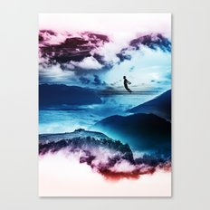 End of isolation Canvas Print
