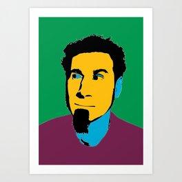 Serj Tankian portriat illustration Art Print