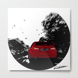 EVO VI Metal Print