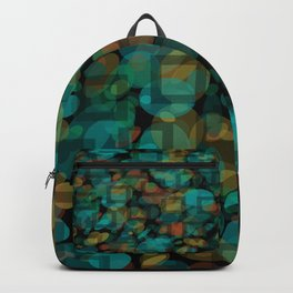 Black and White Squares Pattern 03 Backpack