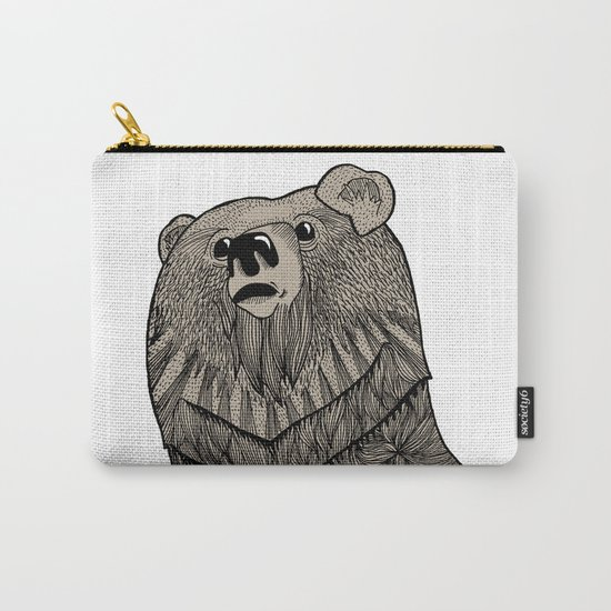 Beary Hairy Carry-All Pouch