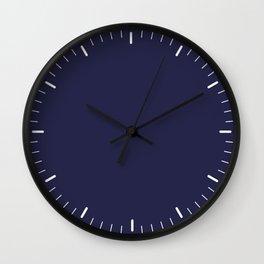 Little marks blue Wall Clock