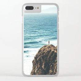 Malibu Coast / California Beach Clear iPhone Case