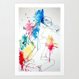 Skater Art Print