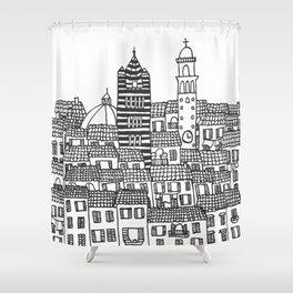 Siena, Italy Shower Curtain