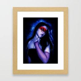 Masked Framed Art Print