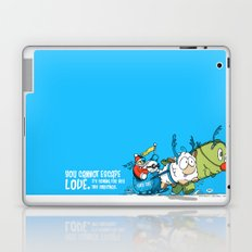 You Cannot Escape Love. Laptop & iPad Skin