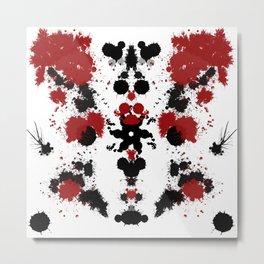 Rorschach 9 Metal Print