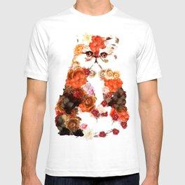 Portrait cute little kitten t-shirts T-shirt