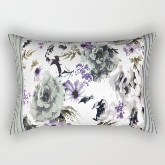 Kwan Yin Roses Rectangular Pillow