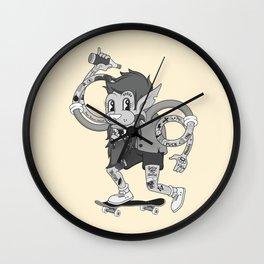 Retro Skate Lad Wall Clock