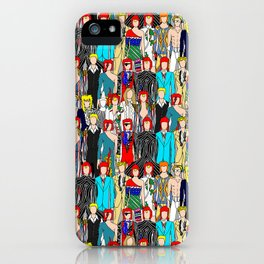 Rock Stars Heroes LV Gray iPhone Case
