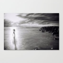 Back To the Ocean Canvas Print