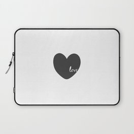 Love Sign,Heart Print,Gift For Her,Valentines,Gift For Boyfriend,Wall Art,I Love You Sign,Digital Laptop Sleeve