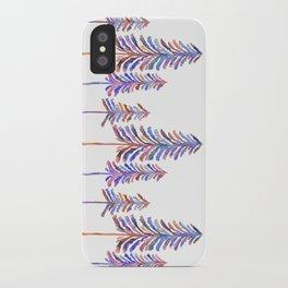 Pine Trees – 90s Color Palette iPhone Case