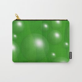 Abstract green 163 Carry-All Pouch