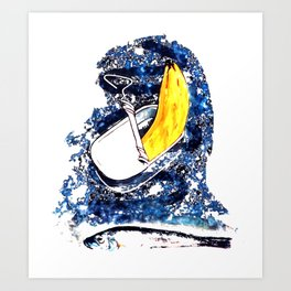 Verdrängungswettbewerb - Kunst Art Print