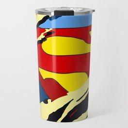 superhero torn - SuperMan Travel Mug