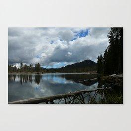 Sprague Lake Cloud Reflection Canvas Print