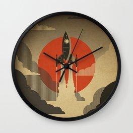 The Voyage (Grey) Wall Clock
