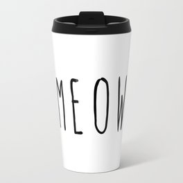 M E O W Travel Mug