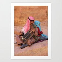 People of Petra Art Print