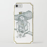 poker iPhone & iPod Cases featuring Poker face by Ruth Porter Illustration