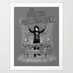 The Amazing Magic Eightball Art Print