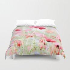 Poppy pastels Duvet Cover