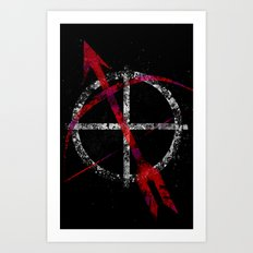 Avengers - Hawkeye Art Print