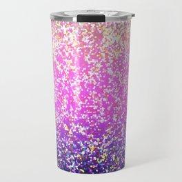 Glitter Graphic Background G104 Travel Mug