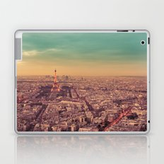 Paris - Sunset over the City of Lights Laptop & iPad Skin