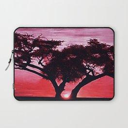 Cherry Blossom Sunset Laptop Sleeve