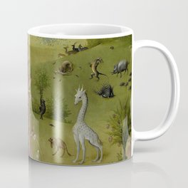 Hieronymus Bosch - The Garden of Earthly Delights - Medieval Oil Painting Coffee Mug