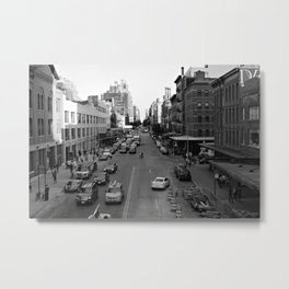 NYC Meat Packing Dsrt. Metal Print