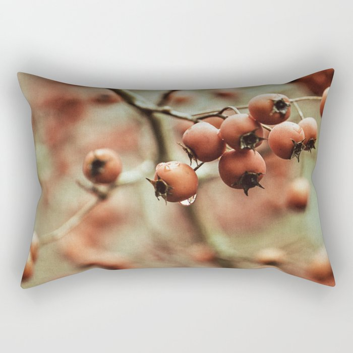 crabapples Rectangular Pillow