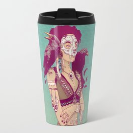 Raven Lady Travel Mug